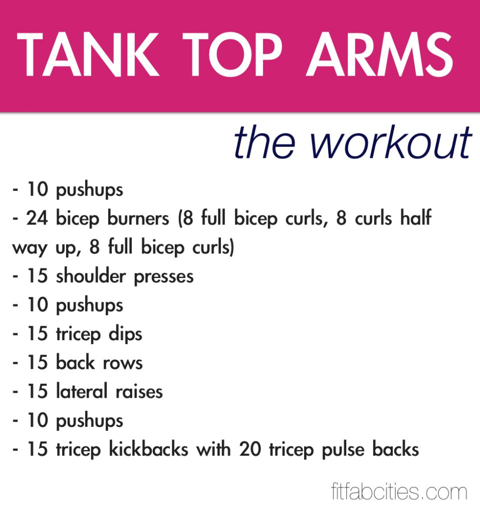 Triceps Home Workout No Weights Routines
