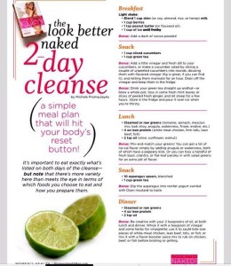 Lose weight in 2 days