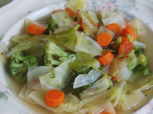 Suggested Cabbage Soup Diet Recipe Variations